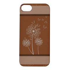 Dandelion Frame Card Template For Scrapbooking Apple Iphone 5s/ Se Hardshell Case by Simbadda