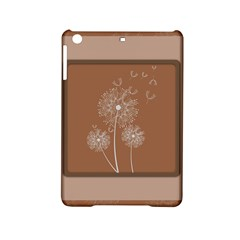 Dandelion Frame Card Template For Scrapbooking Ipad Mini 2 Hardshell Cases by Simbadda