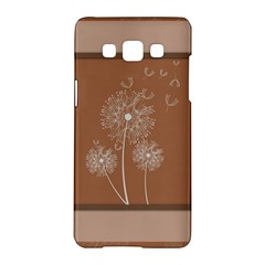 Dandelion Frame Card Template For Scrapbooking Samsung Galaxy A5 Hardshell Case  by Simbadda