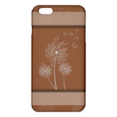 Dandelion Frame Card Template For Scrapbooking Iphone 6 Plus/6s Plus Tpu Case by Simbadda