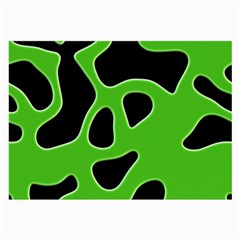Black Green Abstract Shapes A Completely Seamless Tile Able Background Large Glasses Cloth by Simbadda