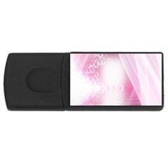 Realm Of Dreams Light Effect Abstract Background Usb Flash Drive Rectangular (4 Gb) by Simbadda
