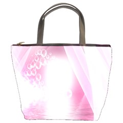Realm Of Dreams Light Effect Abstract Background Bucket Bags by Simbadda