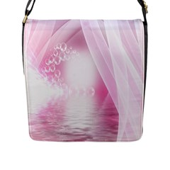 Realm Of Dreams Light Effect Abstract Background Flap Messenger Bag (l)  by Simbadda