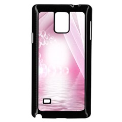 Realm Of Dreams Light Effect Abstract Background Samsung Galaxy Note 4 Case (black) by Simbadda