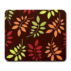 Leaves Wallpaper Pattern Seamless Autumn Colors Leaf Background Large Mousepads by Simbadda