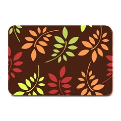 Leaves Wallpaper Pattern Seamless Autumn Colors Leaf Background Plate Mats