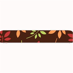 Leaves Wallpaper Pattern Seamless Autumn Colors Leaf Background Small Bar Mats by Simbadda