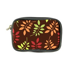 Leaves Wallpaper Pattern Seamless Autumn Colors Leaf Background Coin Purse by Simbadda