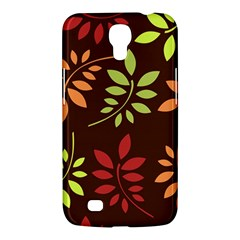 Leaves Wallpaper Pattern Seamless Autumn Colors Leaf Background Samsung Galaxy Mega 6 3  I9200 Hardshell Case by Simbadda
