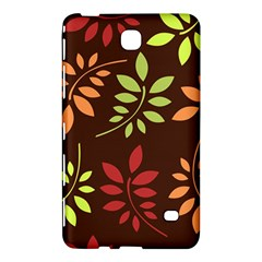 Leaves Wallpaper Pattern Seamless Autumn Colors Leaf Background Samsung Galaxy Tab 4 (8 ) Hardshell Case
