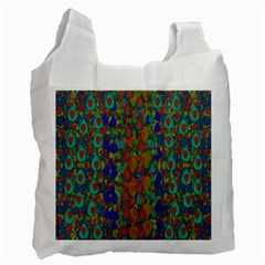 Sea Of Mermaids Recycle Bag (one Side) by pepitasart
