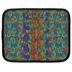 Sea Of Mermaids Netbook Case (xxl)  by pepitasart