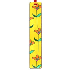 Small Flowers Pattern Floral Seamless Vector Large Book Marks