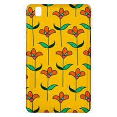 Small Flowers Pattern Floral Seamless Vector Samsung Galaxy Tab Pro 8 4 Hardshell Case