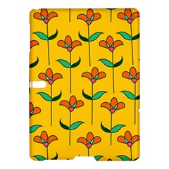 Small Flowers Pattern Floral Seamless Vector Samsung Galaxy Tab S (10 5 ) Hardshell Case  by Simbadda