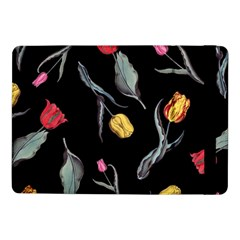 Colorful Tulip Wallpaper Pattern Background Pattern Wallpaper Samsung Galaxy Tab Pro 10 1  Flip Case by Simbadda
