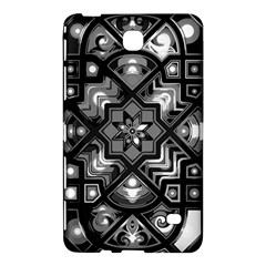 Geometric Line Art Background In Black And White Samsung Galaxy Tab 4 (8 ) Hardshell Case
