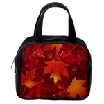 Autumn Leaves Fall Maple Classic Handbags (One Side) Front