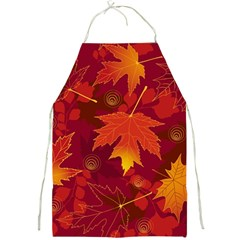 Autumn Leaves Fall Maple Full Print Aprons