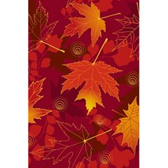 Autumn Leaves Fall Maple 5 5  X 8 5  Notebooks by Simbadda