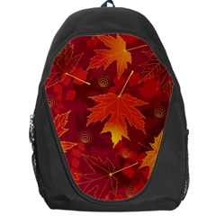 Autumn Leaves Fall Maple Backpack Bag