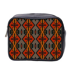 Seamless Pattern Digitally Created Tilable Abstract Mini Toiletries Bag 2 Side by Simbadda