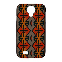 Seamless Pattern Digitally Created Tilable Abstract Samsung Galaxy S4 Classic Hardshell Case (pc+silicone) by Simbadda