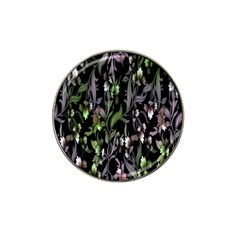 Floral Pattern Background Hat Clip Ball Marker by Simbadda