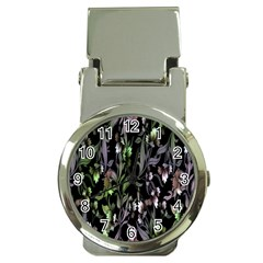 Floral Pattern Background Money Clip Watches by Simbadda