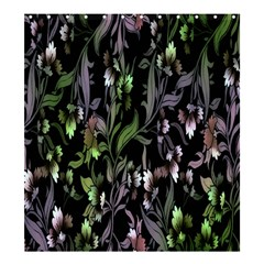 Floral Pattern Background Shower Curtain 66  X 72  (large)  by Simbadda