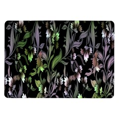 Floral Pattern Background Samsung Galaxy Tab 10 1  P7500 Flip Case by Simbadda