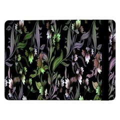 Floral Pattern Background Samsung Galaxy Tab Pro 12 2  Flip Case by Simbadda