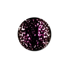 Background Structure Magenta Brown Golf Ball Marker by Simbadda