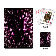 Background Structure Magenta Brown Playing Card by Simbadda