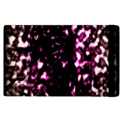 Background Structure Magenta Brown Apple Ipad 3/4 Flip Case by Simbadda