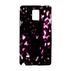 Background Structure Magenta Brown Samsung Galaxy Note 4 Hardshell Case by Simbadda