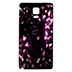 Background Structure Magenta Brown Galaxy Note 4 Back Case