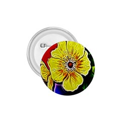 Beautiful Fractal Flower In 3d Glass Frame 1 75  Buttons by Simbadda