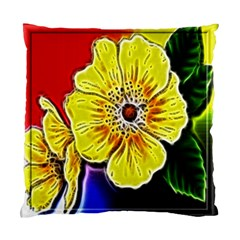 Beautiful Fractal Flower In 3d Glass Frame Standard Cushion Case (one Side) by Simbadda