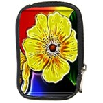 Beautiful Fractal Flower In 3d Glass Frame Compact Camera Cases Front