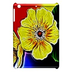 Beautiful Fractal Flower In 3d Glass Frame Apple Ipad Mini Hardshell Case by Simbadda