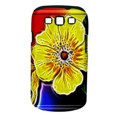 Beautiful Fractal Flower In 3d Glass Frame Samsung Galaxy S Iii Classic Hardshell Case (pc+silicone) by Simbadda