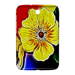Beautiful Fractal Flower In 3d Glass Frame Samsung Galaxy Note 8 0 N5100 Hardshell Case  by Simbadda