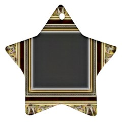 Fractal Classic Baroque Frame Ornament (star) by Simbadda