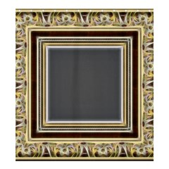 Fractal Classic Baroque Frame Shower Curtain 66  X 72  (large)  by Simbadda