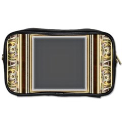 Fractal Classic Baroque Frame Toiletries Bags by Simbadda