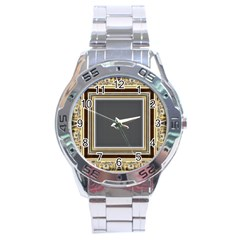 Fractal Classic Baroque Frame Stainless Steel Analogue Watch by Simbadda