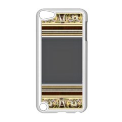 Fractal Classic Baroque Frame Apple Ipod Touch 5 Case (white) by Simbadda