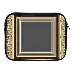 Fractal Classic Baroque Frame Apple Ipad 2/3/4 Zipper Cases by Simbadda